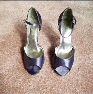 Women's Purple Michaelangelo Heels